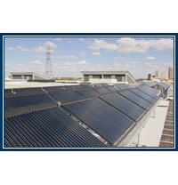 Adult Detention Center Solar Hot Water Panels