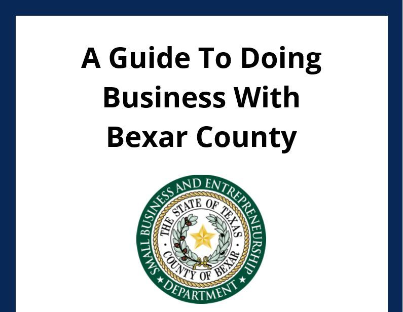A Guide To Doing Business With Bexar County