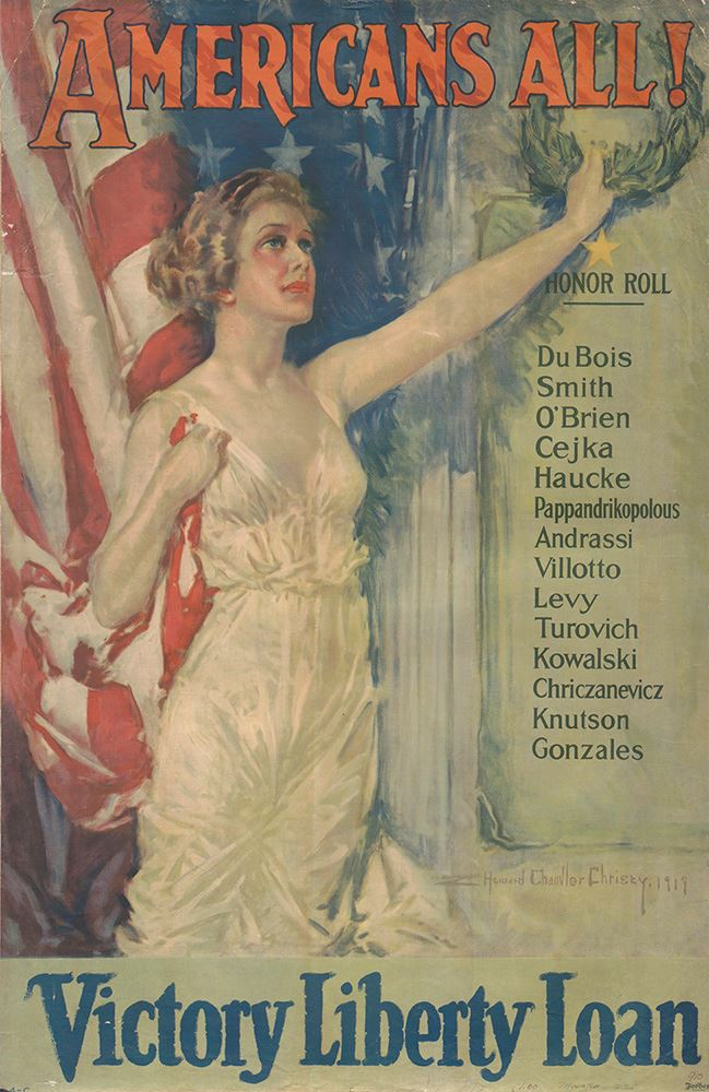 Howard Chandler Christy - Americans ALL!